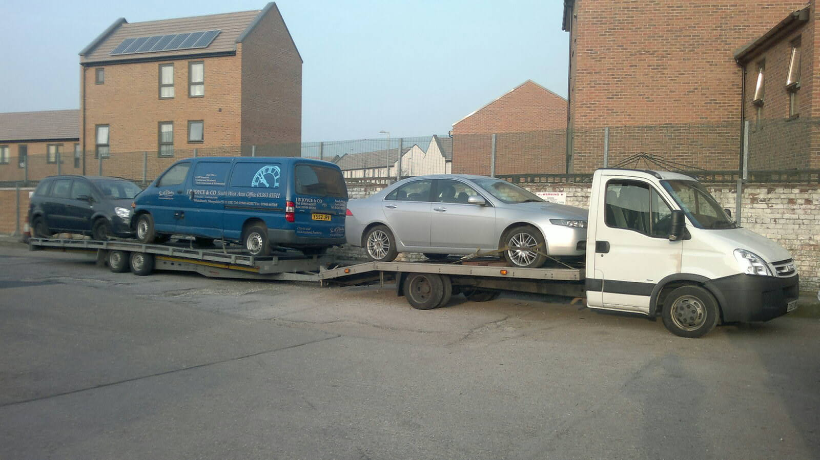 Breakdown Vehicle Recovery, Delivery and Logistics Services in London, UK and Europe
